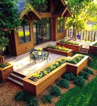 Deck Garden Ideas 17 Wonderful Decking With Best Designs for ucwords]