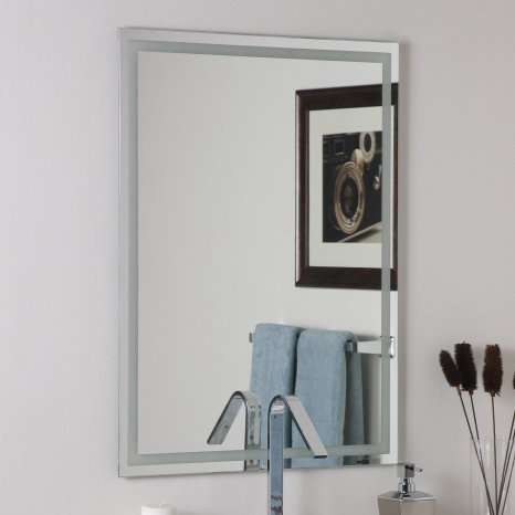 Decoration Gorgeous Mirrors Lowes With Fancy D Frames For inside [keyword