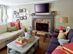 Eclectic Comfort Inspires Living Room Milk And Honey Home intended for 31+ Dorable Eclectic Living Room