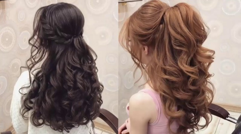 Elegant Prom Hairstyles For Long Hair Youtube in [keyword