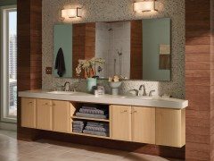 Finding The Right Bathroom Mirror Bertch Cabinet Manfacturing with 24+ Big Bathroom Mirror Trend In Real Interiors
