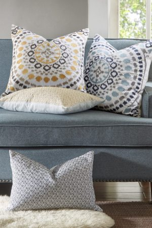 How To Use Decorative Pillows In The Living Room Overstock pertaining to 14+ Unique Living Room Pillows