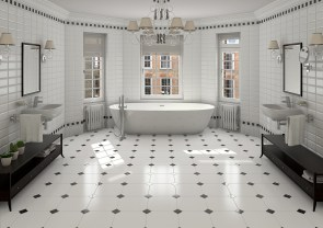 If You Confuse To Choose Bathroom Tiles Design Pattern And in 18+ Magnificent Bathroom Floor Tiles Design
