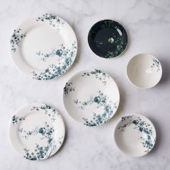 Les Oiseaux Vintage Inspired French Dinnerware pertaining to [keyword