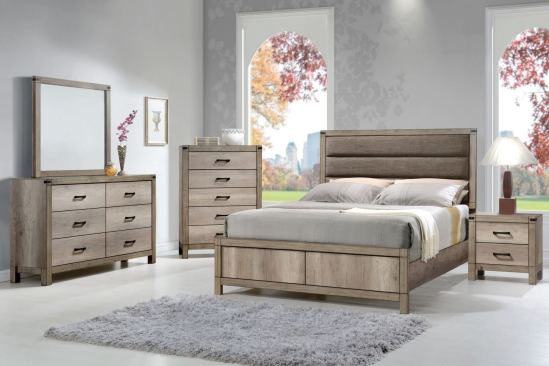Matteo Rustic Bedroom Set Crown Mark Bedroom Furniture Sets intended for 27+ Rustic Home Decor Ideas You Can Build Yourself