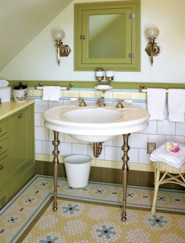 Mosaic Floor Tile Patterns For Baths Old House Journal throughout [keyword
