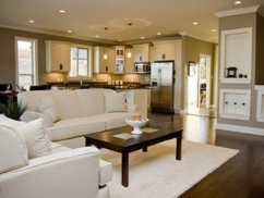 Open Space Kitchen And Living Room Home Decorating Ideas with regard to [keyword