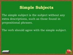 Ppt Subject Verb Agreement Powerpoint Presentation Id pertaining to 13+ Unique Simple Subject