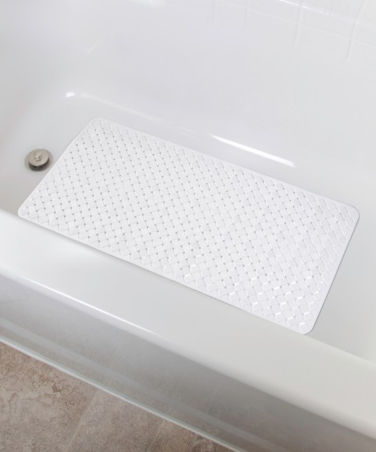 Richards Homewares White Woven Tub Mat intended for ucwords]