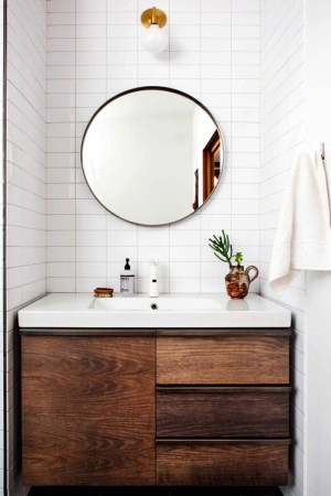Round Bathroom Mirror Inspirations Shopping Picks Apartment Therapy in 24+ Big Bathroom Mirror Trend In Real Interiors