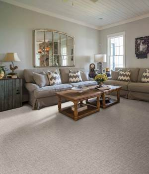 Rustic Farmhouse Living Room Tans Browns Carpet Design pertaining to ucwords]