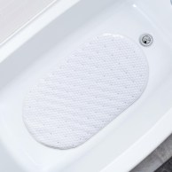 Splash Bubbles Pvc Bathtub Mat White regarding 29+ Old Fashioned Bath Tub Mat