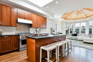 This South End Penthouse Includes A Domed Ceiling In The regarding ucwords]
