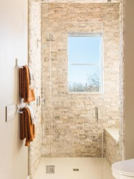 Top 20 Bathroom Tile Trends Of 2017 Hgtvs Decorating Design throughout 14+ How To Tile A Bathroom Floor With Plank Tiles