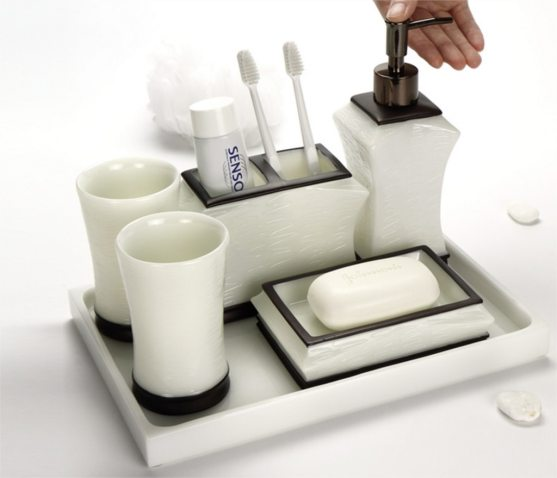 Us 6073 40 Offhot Selling Bathroom Accessories Set European Style Resin Accessory Toothbrush Holder Soap Dish Lotion Dispenser 5pcsset Lfb292 In inside 20+ Funky Bathroom Accessories Set