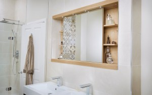 Utopia 1200mm Sliding Mirror Cabinet throughout ucwords]