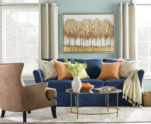 Window Treatments 101 Drapes Vs Curtains Wayfair intended for 21+ Fancy Living Room Window