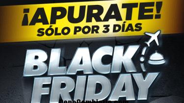 Black Friday o Viernes Negro con ofertas en Argentina