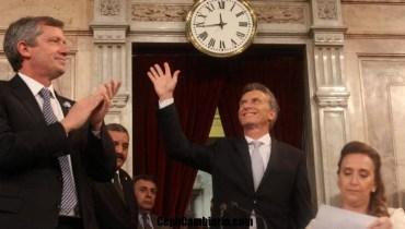 Mauricio Macri ya es el Presidente de todos los Argentinos