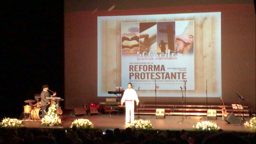Acto Conmemorativo del 500 Aniversario de la Reforma Protestante