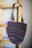 Linen Stitch Hobo Bag - Cera Boutique