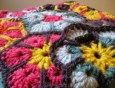 African Daisy Pouch - Cera Boutique