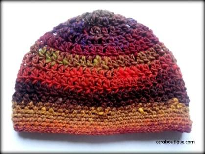 Noro Wool Crochet Hat - Cera Boutique