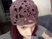 Crochet Square Hat - Cera Boutique