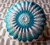 Sugar and Cream Sunburst Pillow - Cera Boutique