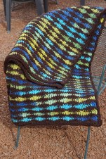 Earthy Waves Afghan