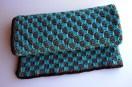 Checkered Crochet Baby Blanket - Cera Boutique