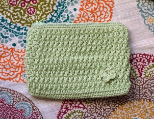 Crochet Happy Fun Pouch - Cera Boutique