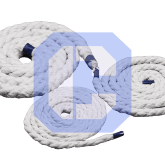 Ceramic Fiber Yarn 3-Ply Rope from CeraMaterials