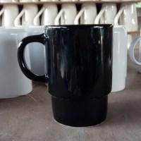 แก้วมัคสีดำ 400 cc.