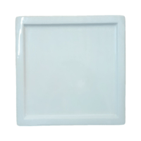 Square Rim Plate 27×27 cm.