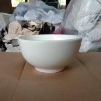 ถ้วยซุปทรงหนา 4.5 นิ้ว สีขาว