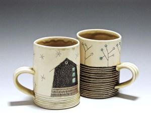 Cindy Guajardo - Handmade Pottery Mugs