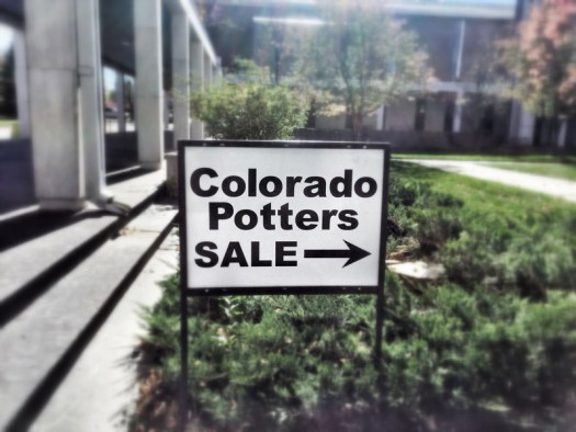 Organize a pottery craft show and sale