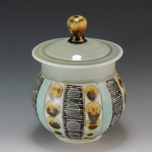 Sarah Christensen Ceramics - Covered Jar