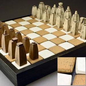 Jim Bridgeman Ceramic Artist - Ceramic Chess Set