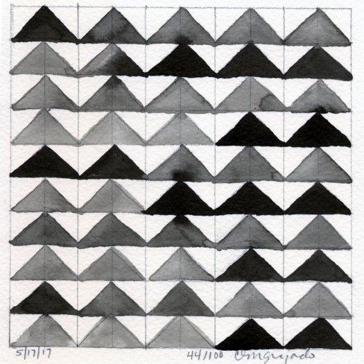 Cindy Guajardo - 100 Days of Pattern 44