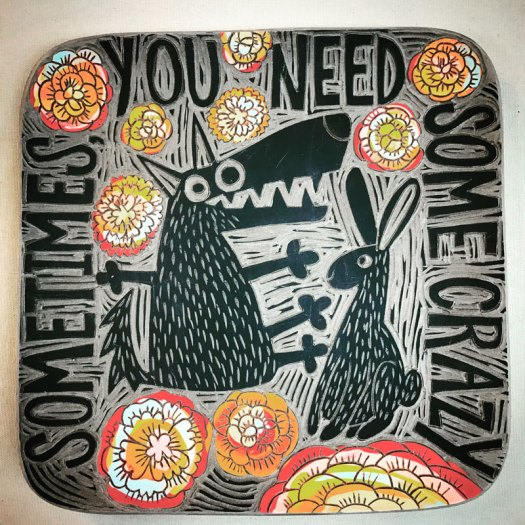 Noelle Horsfield - Sometimes You Need Some Crazy Platter