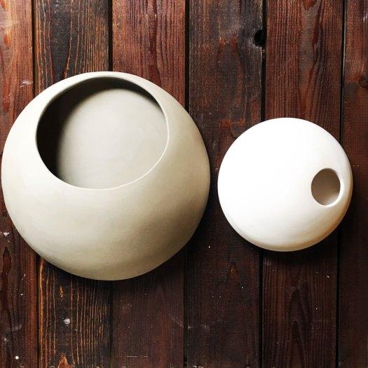 CeramicScapes - Large Wall Planter