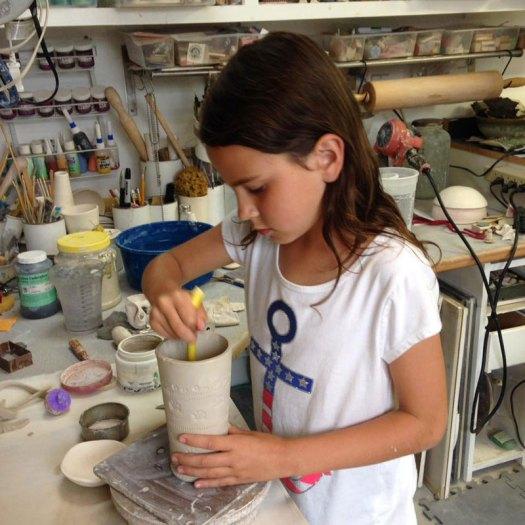 Jackson Gray of JackPots Pottery - Ava Makes a Mug