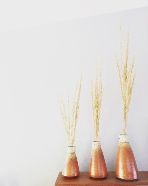 Jamie Kelly of Red Beard Studio - Bud Vases