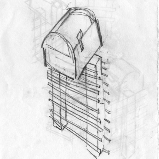 Cindy Guajardo Mailboxes Sketches 2