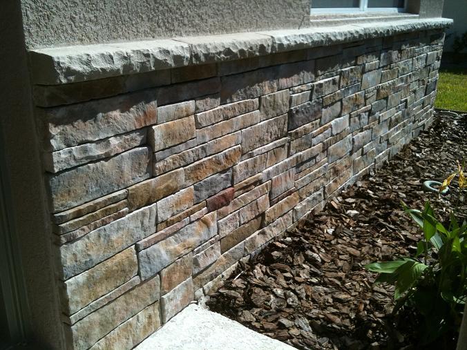 Ceramictec Thin Stacked Stone Veneer In Florida