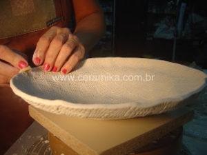 modelagem em porcelana
