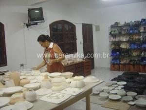 peças ceramicas para esmaltar