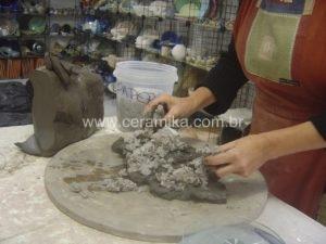 mistura para paper clay